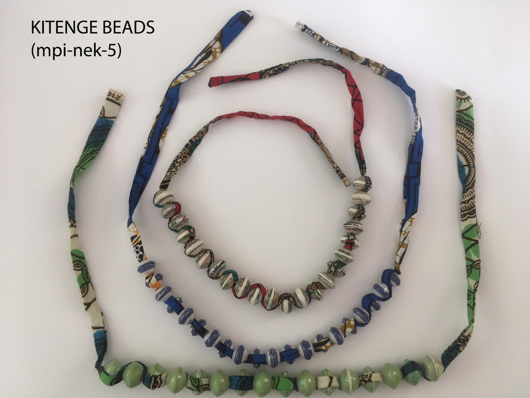 Kitenge Beads (mpi-nek-5)