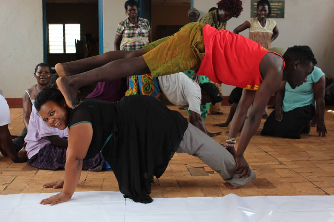 Physical fitness Exercises at Kireka