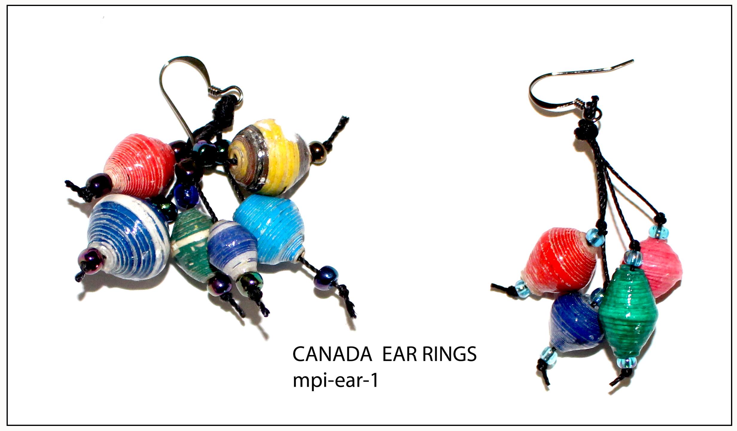Canada Ear Rings (mpi-ear-1)
