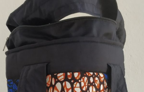 Round Kitenge Bag (mpi bag-8)