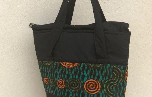 Round Kitenge Bag (mpi-bag-8)
