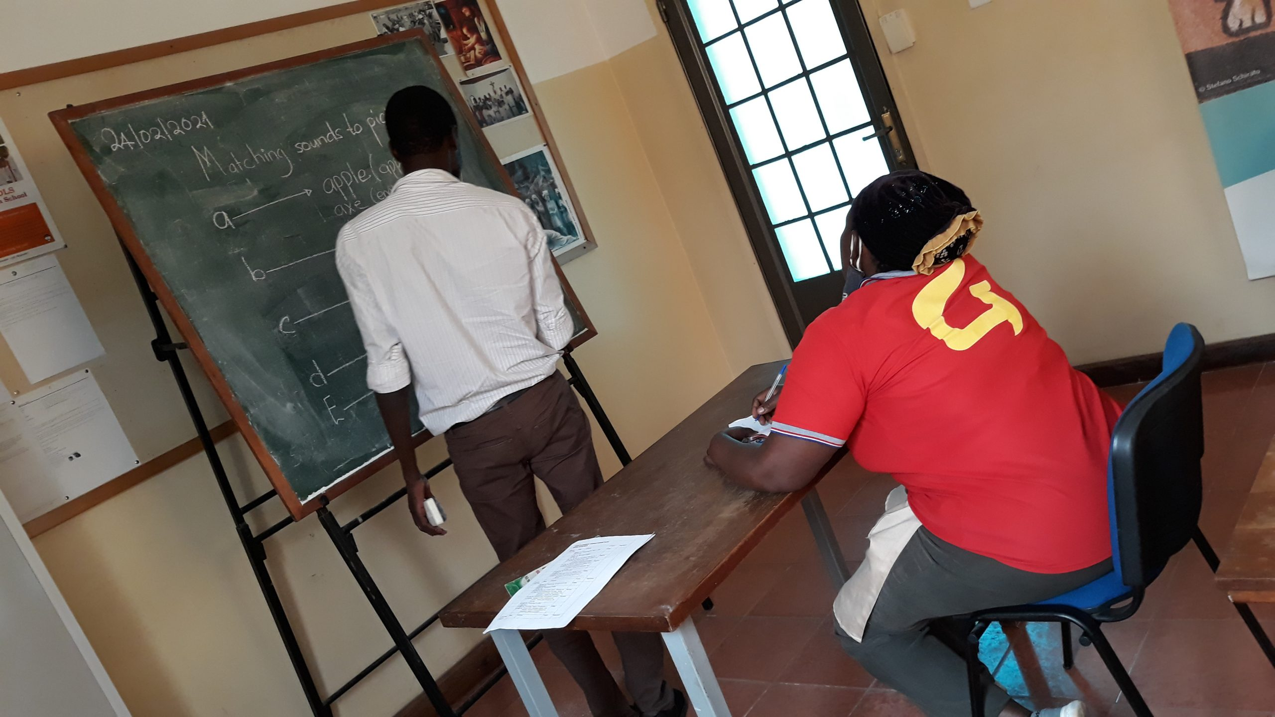 Adult literacy lessons